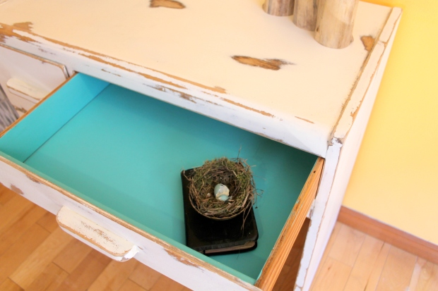 Inside drawers