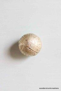Vintage gold knobs