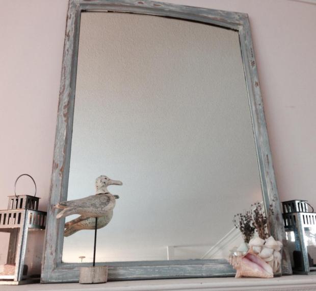 Beachy Mirror